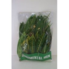 Tropical leaves mix 100stems 40cm A1